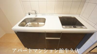 【キッチン】土浦市下高津新築アパート(仮)
