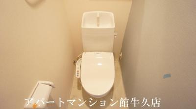 【トイレ】土浦市下高津新築アパート(仮)
