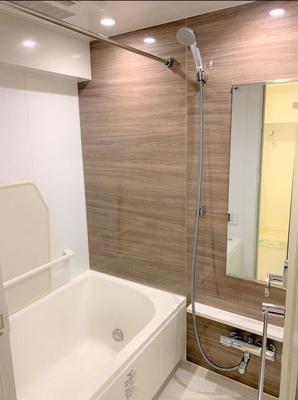 【浴室】エルスタンザ浅草