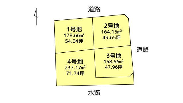 【区画図】石垣西5丁目 2号地