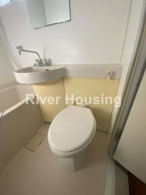 【トイレ】フラット沼袋Ⅰ