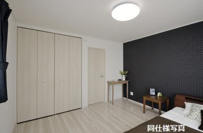 モデルハウスの洋室