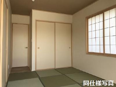 モデルハウスの和室