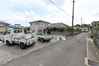 【前面道路含む現地写真】田川郡福智町赤池