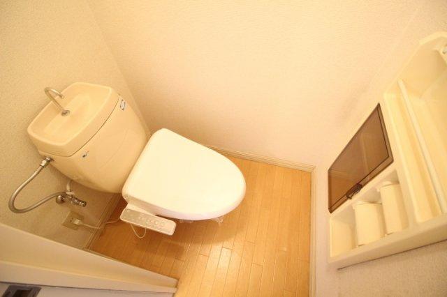 【トイレ】ディアスリバーサイドB棟