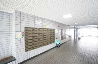 けやき通り北九番館のメールボックスです。