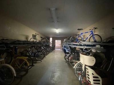 マンションアクロス西巣鴨の駐輪場です。