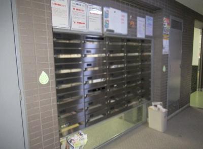 バームハイツ荻窪の郵便受けです。