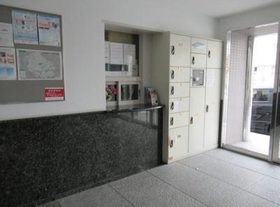 バームハイツ荻窪の宅配ボックスです。