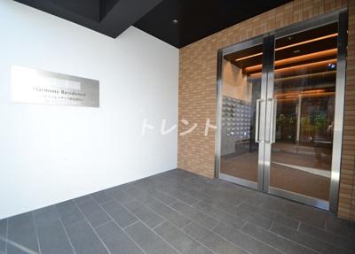 【エントランス】ハーモニーレジデンス新宿四谷