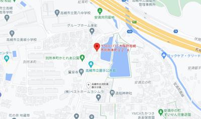【地図】安本ビル