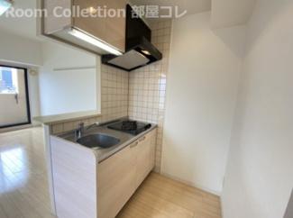 【キッチン】エルミタージュ名駅西