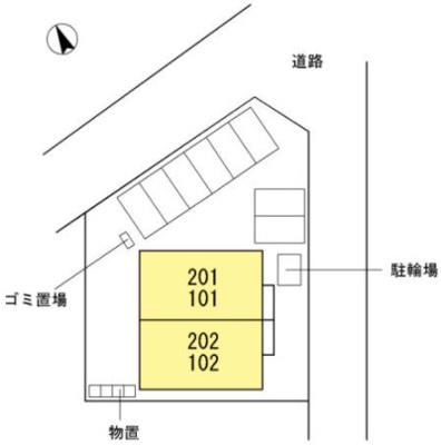 【区画図】ラコスタ