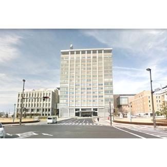 役所「栃木県庁まで1517m」