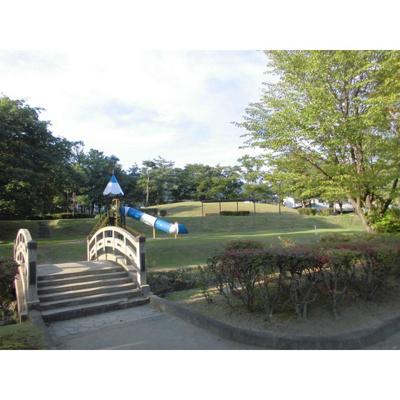 公園「緑ヶ丘公園まで1145m」