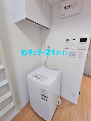 備え付け家具(洗濯機)