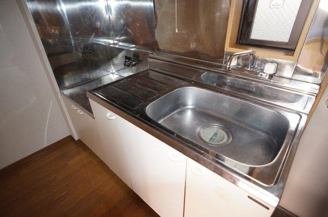 2口ガスコンロが置けるキッチン