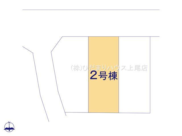 【区画図】西区三橋5丁目 新築一戸建て ブルーミングガーデン 02