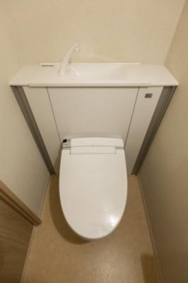 すっきとりしたトイレです