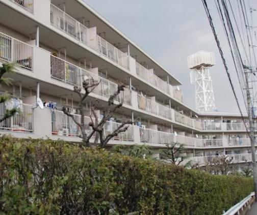 【外観】宮前平パームハウスA棟