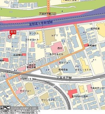 【地図】プログレス下高井戸