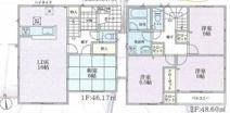 茅ヶ崎市萩園40 新築戸建 全2棟2号棟の画像