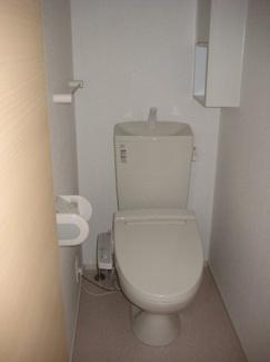 【トイレ】リバーサイド・Ⅱ A
