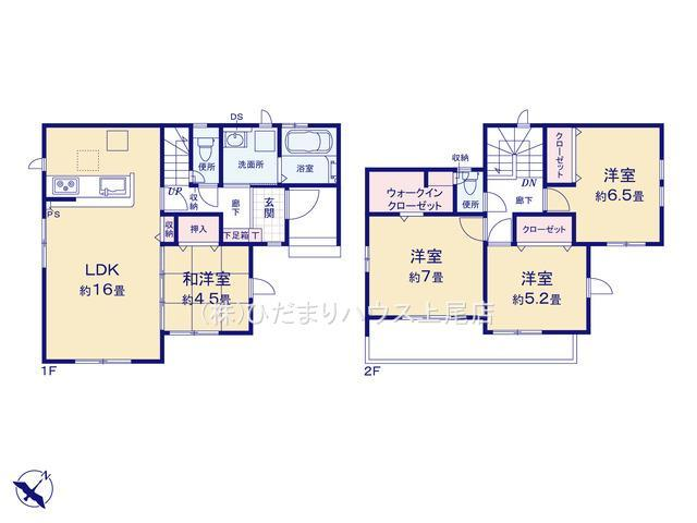 桶川市上日出谷 6期 新築一戸建て グラファーレ 01