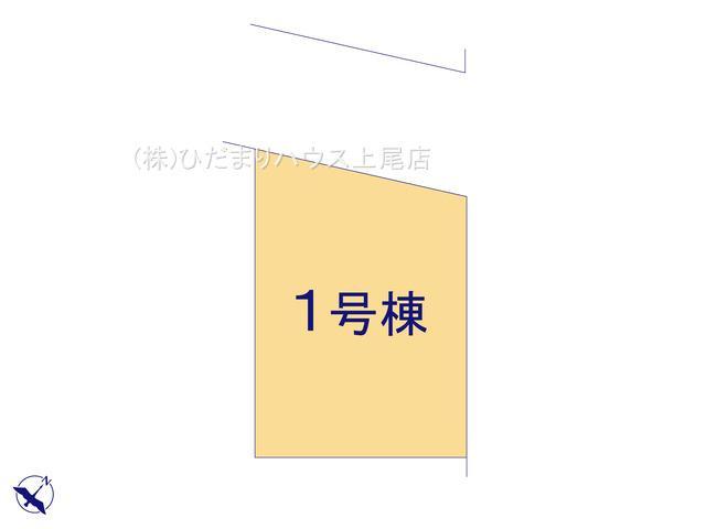 【区画図】桶川市上日出谷 6期 新築一戸建て グラファーレ 01