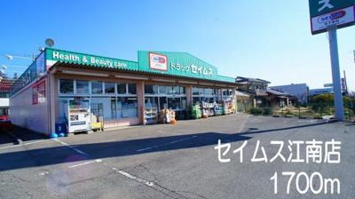 セイムス江南店まで1700m