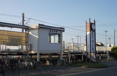 仙石線東矢本駅まで160m