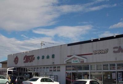 ウジエスーパー中津山店まで2700m