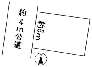 【区画図】57520 岐阜市新栄町土地