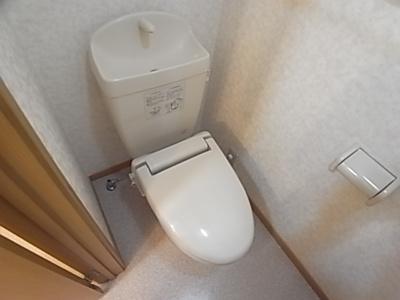 【トイレ】シティビラフォレストB