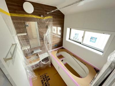【浴室】足立区大谷田5丁目新築戸建て【全5棟】