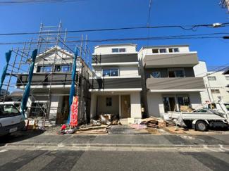 【外観】足立区大谷田5丁目新築戸建て【全5棟】