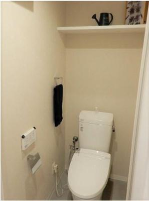 もちろん、トイレも新調です。