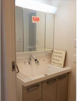 令和3年8月洗面台も新調されています。