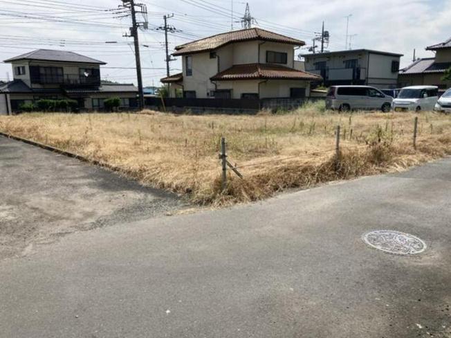 【外観】水戸市八幡町 売地 139坪