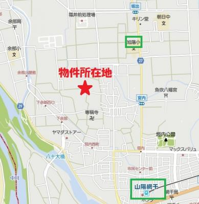 【地図】津市場中古戸建
