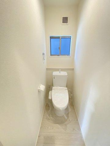 施工例。1階のトイレです。