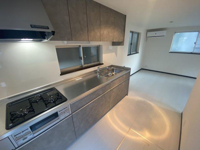 【キッチン】川崎区大島2丁目・中古戸建・平成20年築・リフォーム実施済
