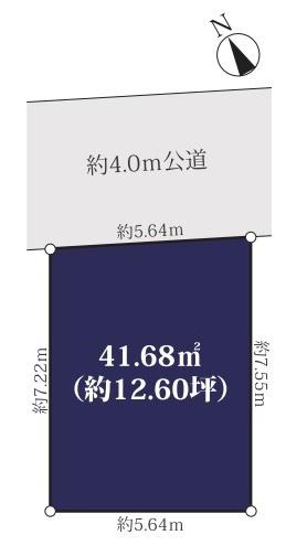 【区画図】川崎区大島2丁目・中古戸建・平成20年築・リフォーム実施済