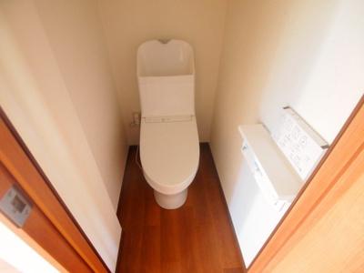 トイレも新設してきれいです!