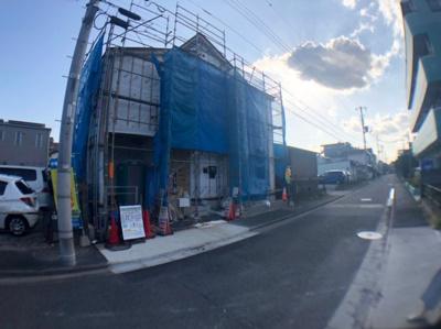 【外観】足立区大谷田5丁目新築戸建て