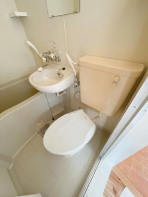 【トイレ】ファミール中野島