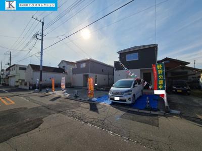 【外観】取手市東21-1期 新築戸建 3号棟
