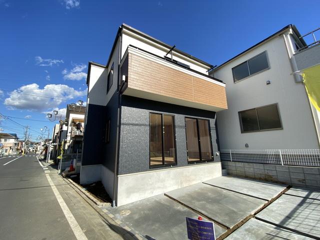 完成イメージパースです。新京成線「高根木戸」駅徒歩15分の全3棟の新築一戸建てです。