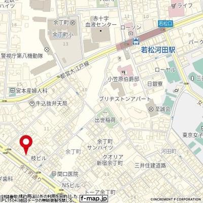 【地図】ラグジュアリーレジデンス新宿