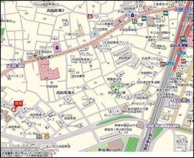 【地図】マンション ウィスタリアⅡ
